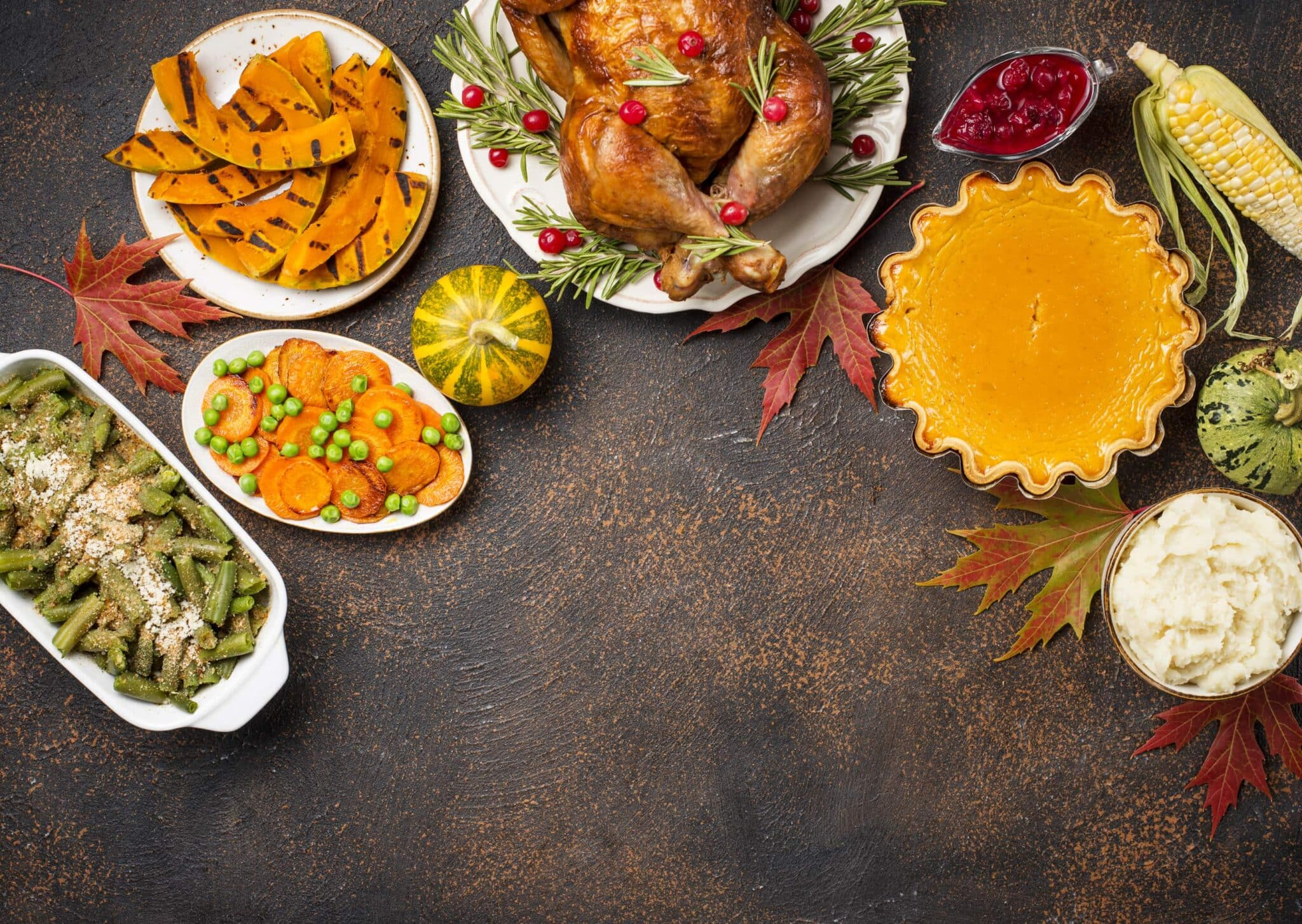 Enter to Win a Turkey Dinner for 4!